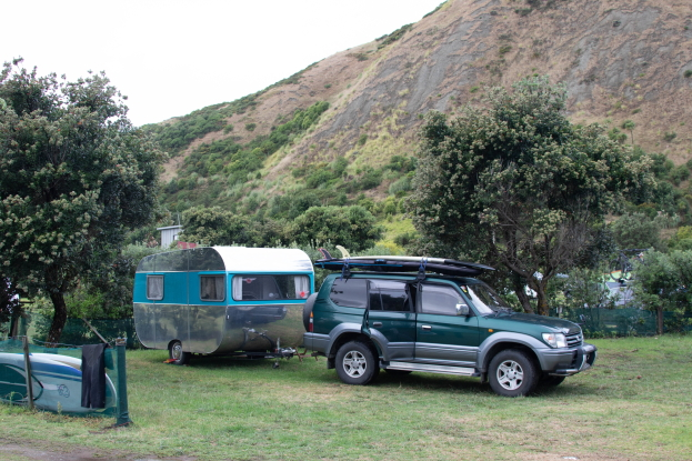 Caravan Camping at Mahia