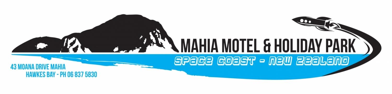 Maha Motel and Holiday park logo