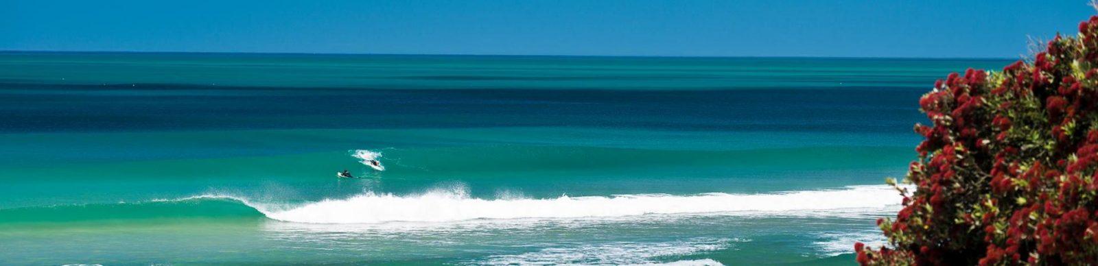 Surfing Mahia